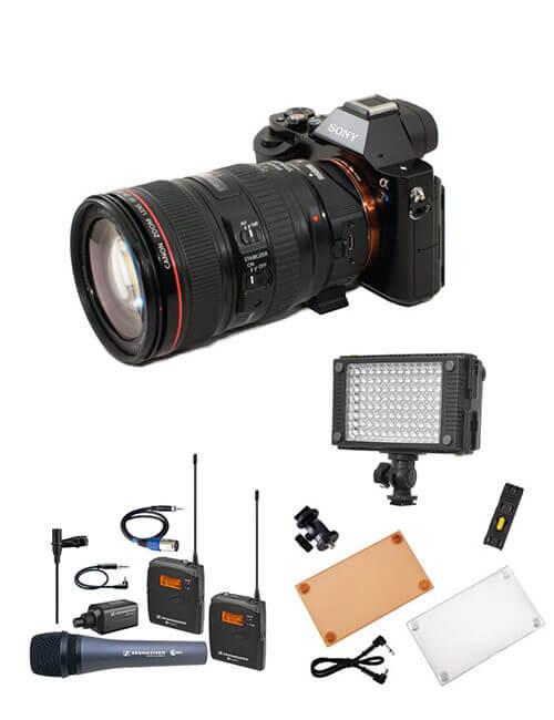 KIT-REPORTAGEM-SONY-A7S sony - KIT REPORTAGEM SONY A7S 500x650 - Kit Reportagem Sony ALPHA A7S II aluguer de câmaras video - KIT REPORTAGEM SONY A7S 500x650 - Aluguer de Câmaras Video e Equipamento de Filmagem