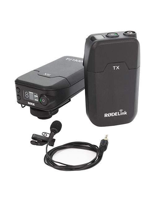 microfone de lapela Kit Emissor/Receptor Rode RODELINK FILMMAKER 1 MICROFONES RODE WIRELESS 500x650  Aluguer de Câmaras Video e Equipamento de Filmagem 1 MICROFONES RODE WIRELESS 500x650