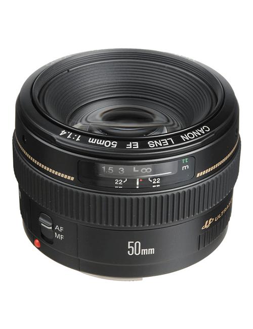 canon Lente Canon 50MM f/1.4 USM CANON EF 50MM 1  Aluguer de Câmaras Video e Equipamento de Filmagem CANON EF 50MM 1