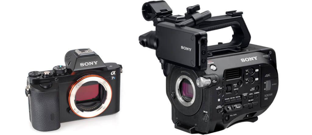 SonyFS7_SonyA7s2-1024x445 aluguer de equipamento de filmagem Vantagens no Aluguer de Equipamento de Filmagem SonyFS7 SonyA7s2 1024x445