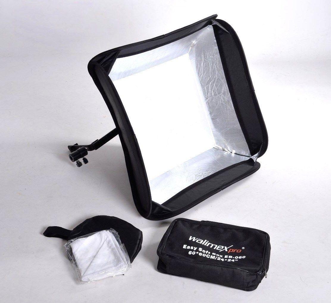 Walimex pro Magic Softbox para kompaktblitze 60x60cm B-Ware